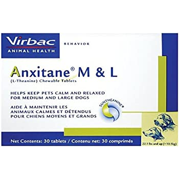 Amazon.com : Virbac Anxitane Tablets, Medium/Large Dog