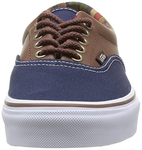 Vans U Era 59 - Zapatillas de tela unisex (c&l) dress blues/potting