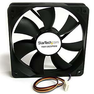 StarTech.com FAN12025PWM - Ventilador para caja de PC (conector con modulación por ancho de pulso)