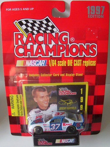 (1997 Racing Champions 1:64 #37 Jeremy Mayfield / K-Mart - RC Cola)