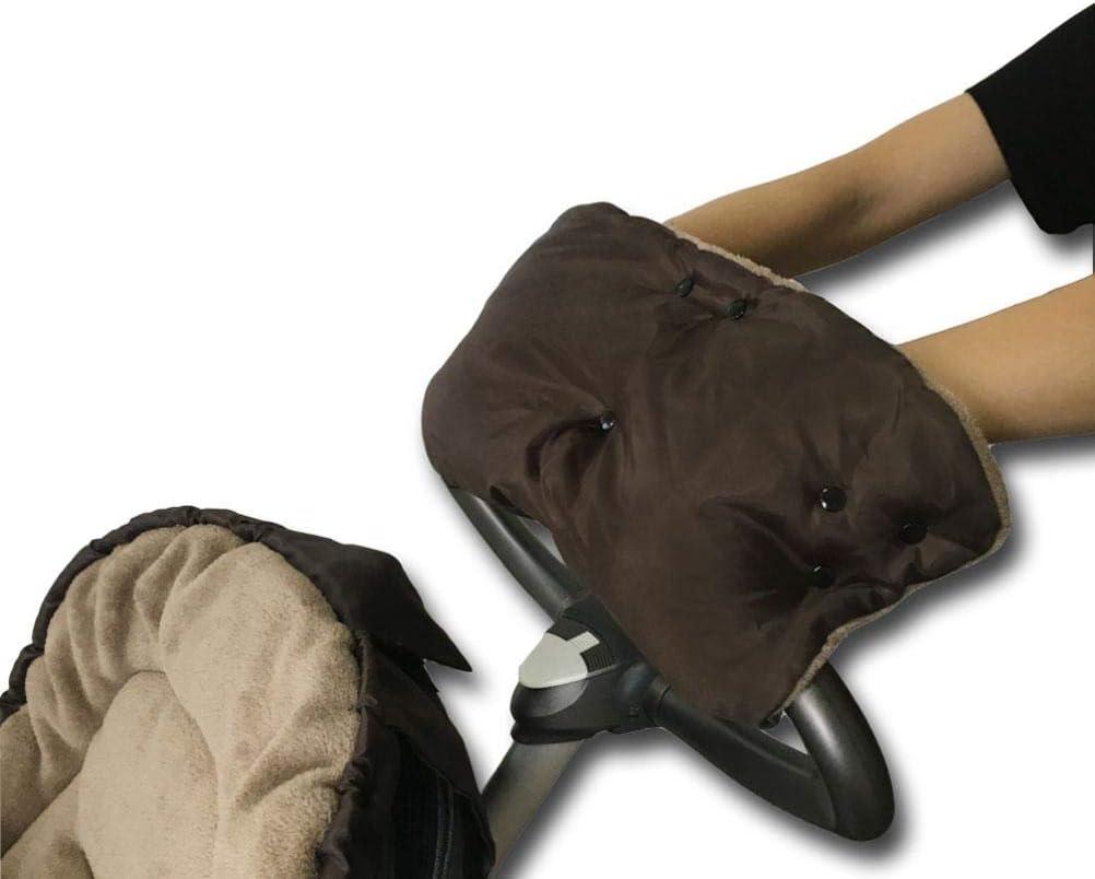 Warm Winter Hand Muff for Baby Stroller or Jogger,Stroller Accessory Handlebar Muff