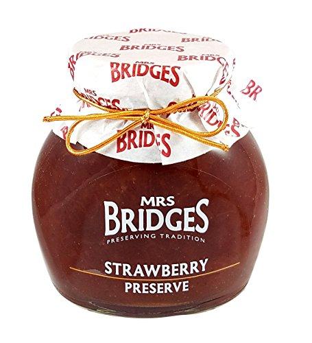 Scottish Food (Mrs Bridges Scottish Preserve, Strawberry, 12 Ounce)