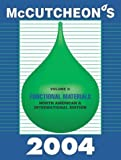 McCutcheon's Functional Materials : North American and International Edition, , 0944254993