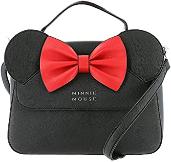 Loungefly x Disney Minnie Faux Leather Crossbody Purse