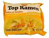 Nissin Top Ramen Chicken Flavor Ramen Noodle Soup 3 oz