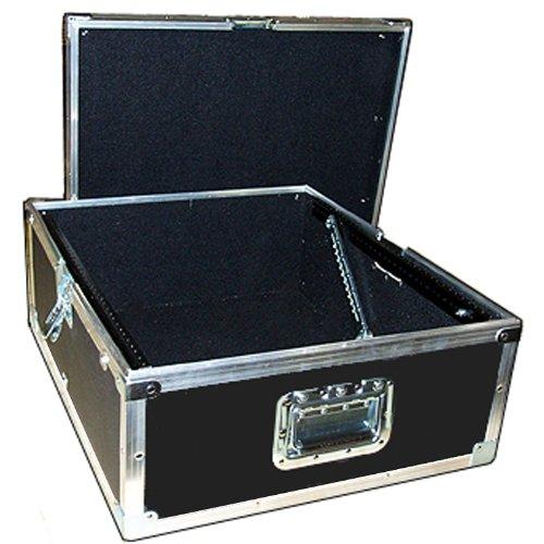 Mixer 1/4 Light Duty ATA Case with 14 Space 14 U - Pop Up Rack Rails