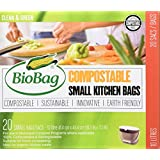 BioBag, Small Kitchen Bags, 10 Litre, 20 Count