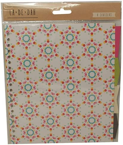 La de Dah bastante Creative Pack diario Diary Carpeta de anillas Separadores X 4: Amazon.es: Juguetes y juegos