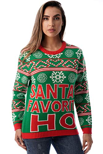 #followme Womens Ugly Christmas Sweater - Sweaters for Women 6773-225-M]()