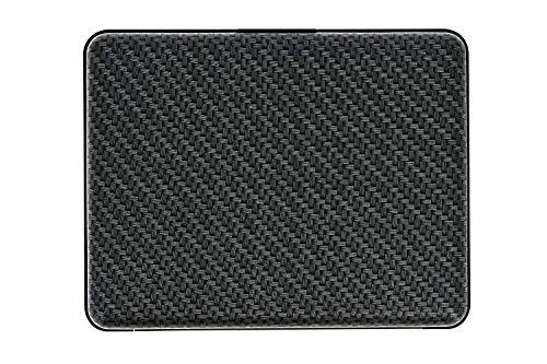 Big Noir black Portefeuille Stockholm Carbone Aluminium Smart Ögon Bs Anodisé Wallet Wallets SwHpqX