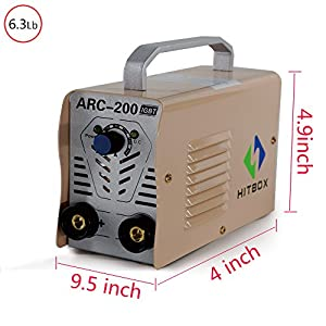 ARC Welder ARC140 IGBT Welding Machine DC Inverter Welder MMA ARC ZX7 140 AMP Rod Stick 140A 220V Complete Package Ready to Use by SHENZHEN UNITWELD WELDING AND MOTOR