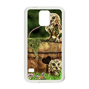 Owl Original New Print DIY Phone Case for SamSung Galaxy S5 I9600,personalized case cover ygtg526422
