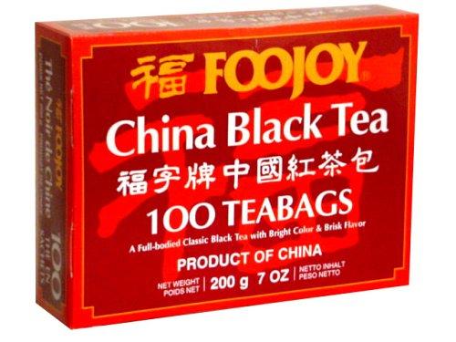 Foojoy China Black Tea - 100 Tea Bags