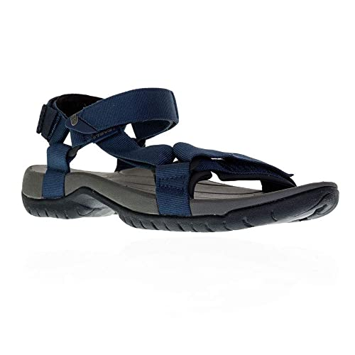 e9682878bc4f Teva Tanza Universal Walking Sandals Blue  Amazon.co.uk  Shoes   Bags