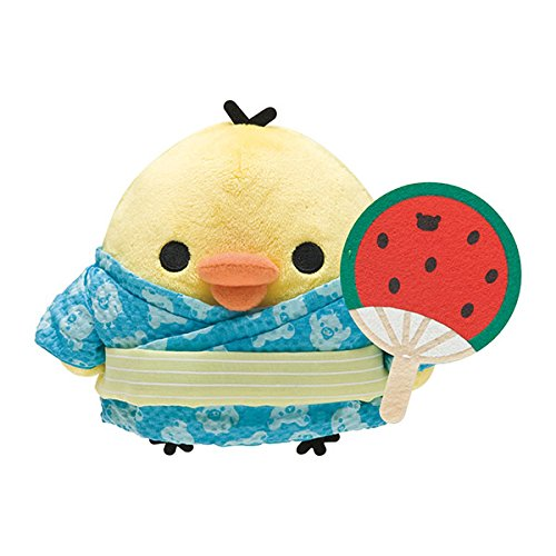 Stuffed gathered Rilakkuma Rilakkuma of summer vacation theme Kiiroitori