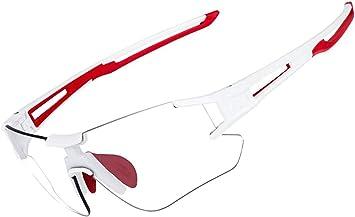 Rockbros Gafas De Sol Fotocromáticas Lentes Transparentes Para Bicicleta Mtb Montaña Ciclismo Running Deportes Unisex Amazon Es Deportes Y Aire Libre