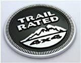Jeep Trail Rated 4X4 Nameplate Emblem Wrangler