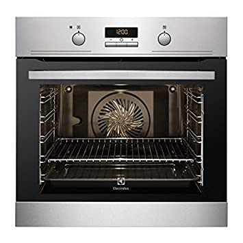 Electrolux HORNO EOC3430FOX INDEPENDIENTE MULTIFUNCION PIROLITICO INOX A+