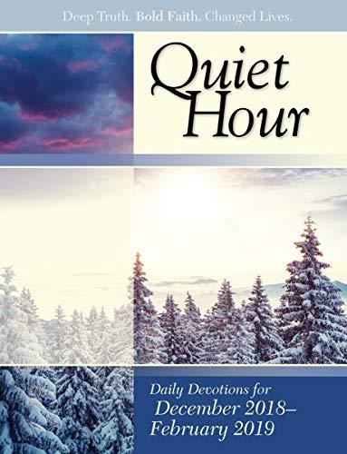 David C. Cook Bible-in-Life Adult Quiet Hour Devotional Booklet - Winter 2015 2016 from David C Cook