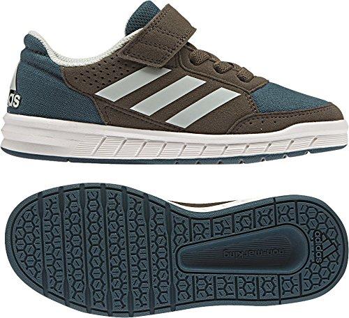 adidas AltaSport EL K - Zapatillas de deportepara niños, Verde - (VERTEC/VERLIN/MARCAR), 34
