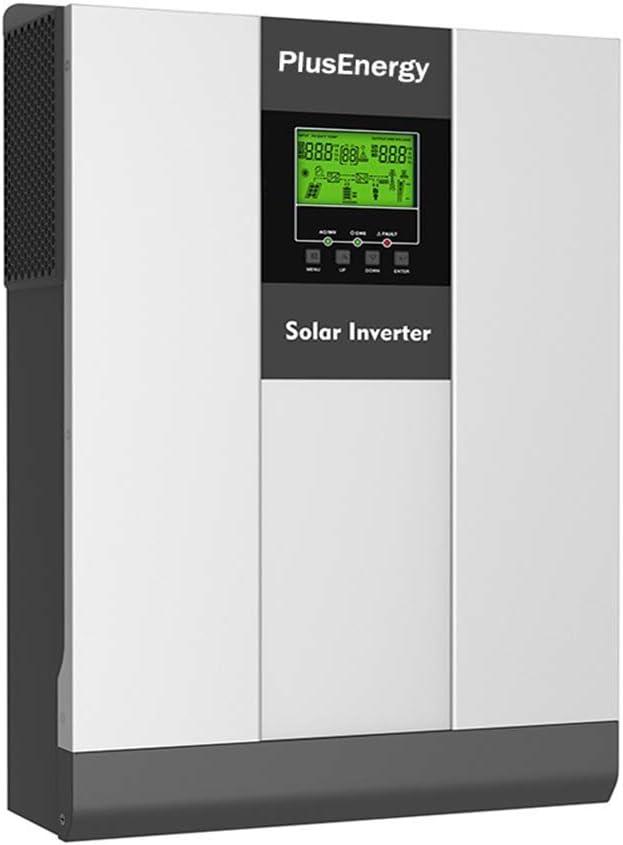 Inversor Solar 3KW Pico 6KW 24v híbrido Regulador MPPT 80A Cargador 30A con función de Paralelos hasta 9000W Pico 18.000W. 3KW VHM Plus