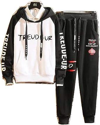 ALLAK Mens Athletic Full Zip Fleece Tracksuit Jogging Sweatsuit Activewear
