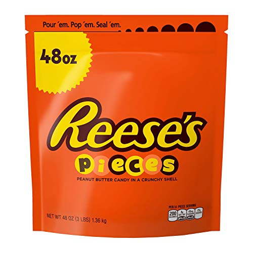REESE'S Pieces Candy BULK (3 POUND BAG) -