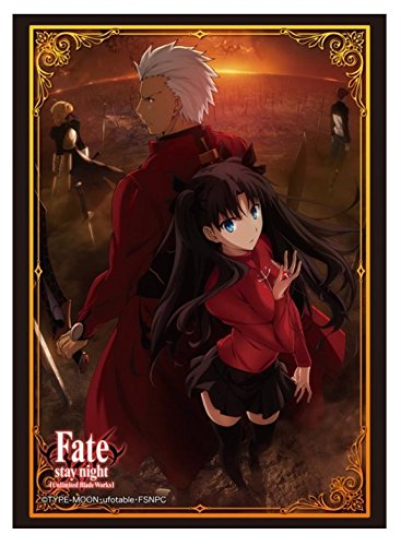 Rin and Archer FSN UBW Card Game Character Sleeves Collection HG Vol.777 Anime Girl Tohsaka Master & Servant Fate/Stay Night Unlimited Blade Works High Grade (Fate Stay Night Unlimited Blade Works Game)