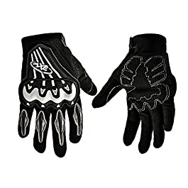 AXE ST07 Full Finger Armoured Gloves for Motorcycle/Cycle Riding Size M