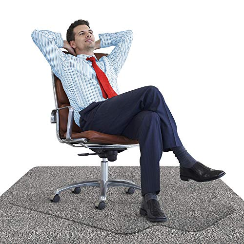 Office Chair Mat for Carpeted Floors - Heavy Duty [Unbreakable] ()