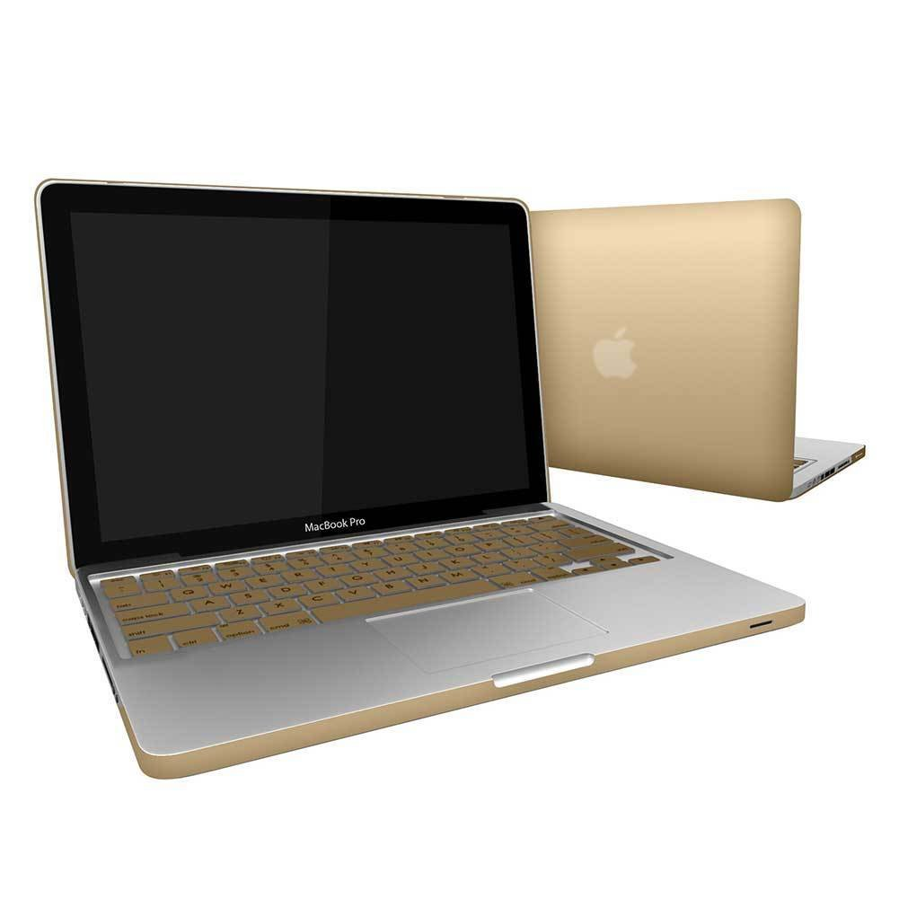 """Rubberized Laptop Hard Case+Keyboard Cover for Macbook Pro13/""""15/""""Retina Air 11""""13"""