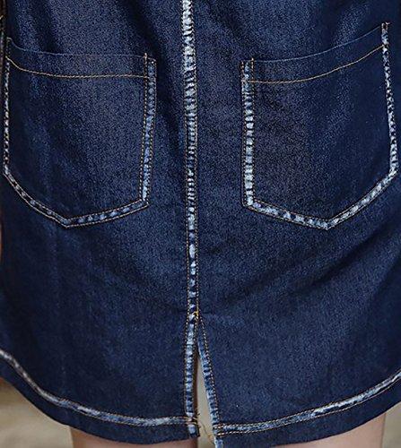 erdbeerloft - Vestido - suéter - Opaco - para mujer