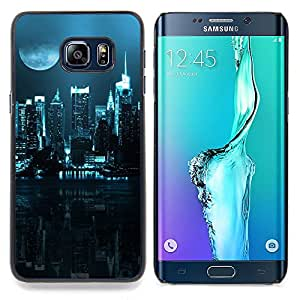City Nighttime Caja protectora de pl??stico duro Dise?¡Àado King Case For Samsung Galaxy S6 Edge Plus