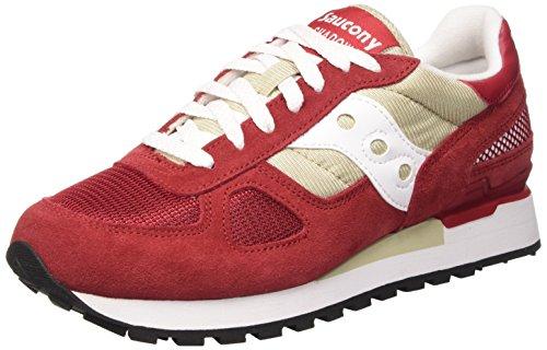 Saucony Shadow Original, Zapatillas Unisex Adulto, Rojo Rojo (Rojo (Sand / Red))