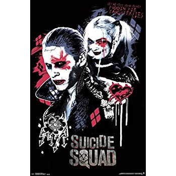 Amazon.com: Suicide Squad - Movie Poster / Print (The
