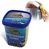 MR. STRONG Oven & Cookware Cleaner Stainless Steel Cleaning Paste Remove Stains from Pots Pans Multi-Purpose Cleaner & Polish Removes Residue Water Marks Universal Cleaning Paste for Removing Rust