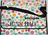 Tim Holtz Junk Bagz Large - Salsa Colors - Dots