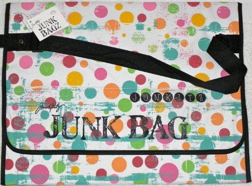 Tim Holtz Junk Bagz Large - Salsa Colors - Dots by Tim Holtz