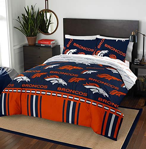 The Northwest Company NFL Denver Broncos Full Bed in a Bag Complete Bedding Set #977496098