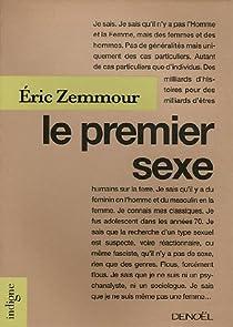 Le Premier Sexe par Zemmour