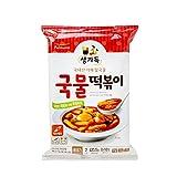 korean rice soup - Korean Pulmuone Frozen Instant Spicy Rice Cake Tteokbokki Making Set (Spicy Soup Rice Cake)