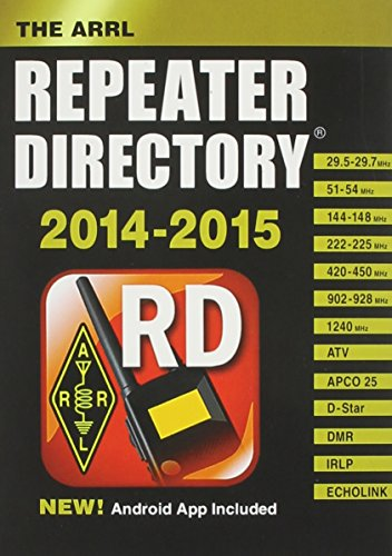 ARRL Repeater Directory 2014/2015 Pocket Size (Ham Repeater Directory)