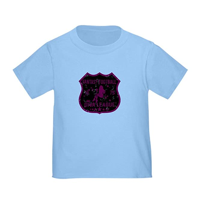 2f3eb16387 CafePress Fantasy Football Diva League Toddler T-Shir Cute Toddler T-Shirt,  100