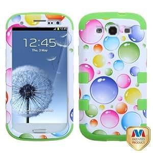 Cerhinu MYBAT SAMSIIIHPCTUFFIM003NP Premium TUFF Case for Samsung Galaxy S3 - 1 Pack - Retail Packaging - Rainbow Bigger...