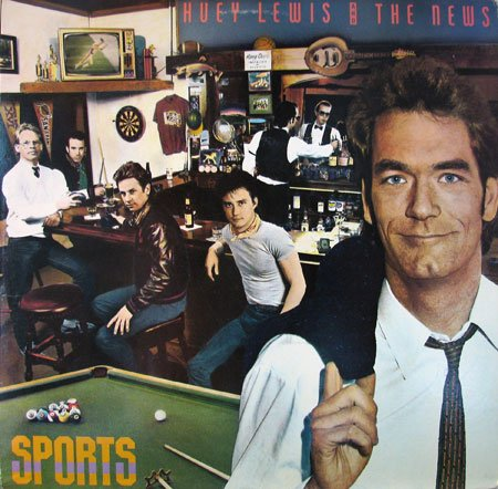 Huey Lewis and the News - Sports - Vinyl - Lewis Mall