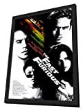 The Fast and the Furious - 27 x 40 Framed Movie Poster