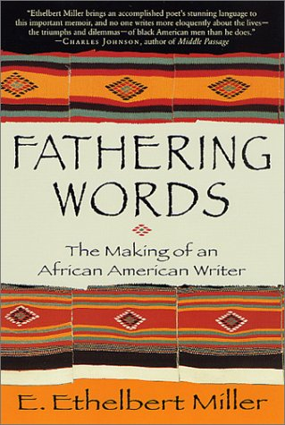 Cover of Fathering Words: The Making of an African American Writer