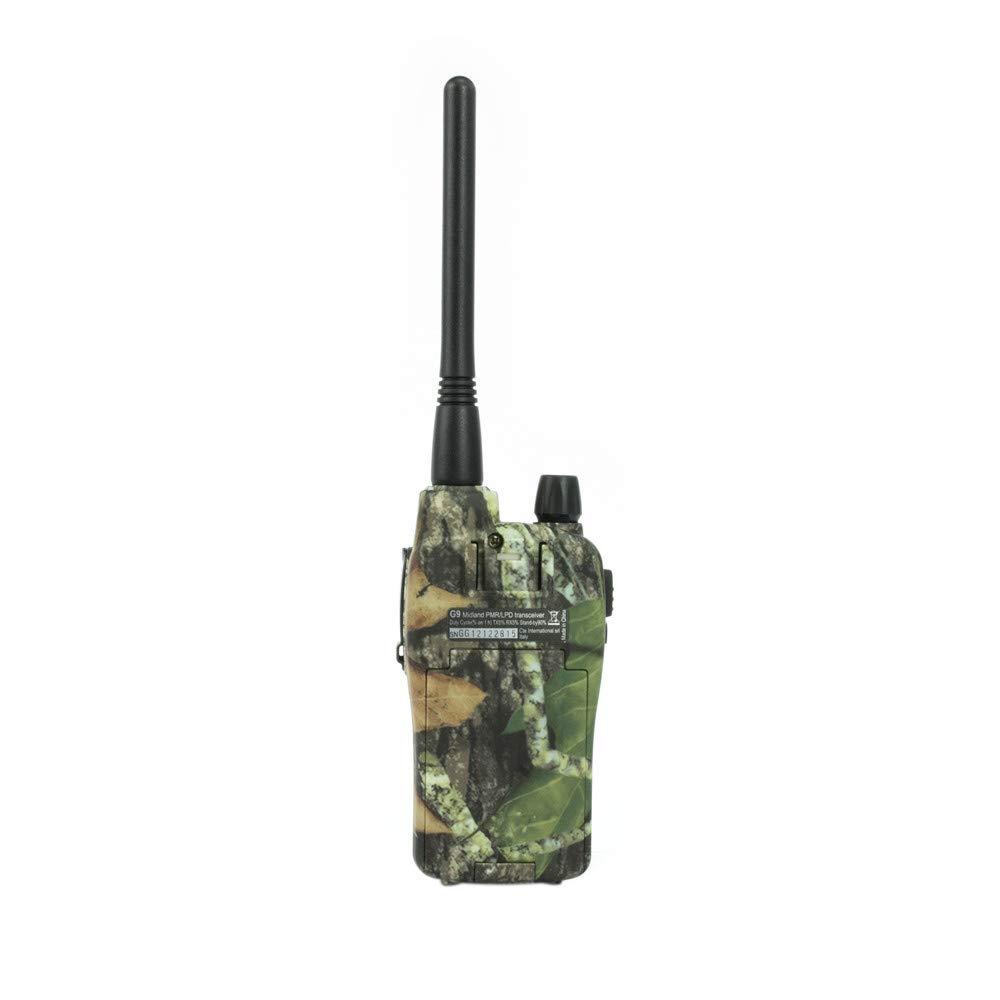 Radio comunicatore bibanda Midland G9 Plus C923.12 Mimetico