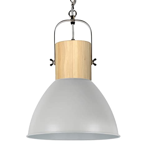 Wood and Metal Tomons Pendant Light Hanging Light Decor ...