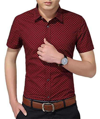 Aiyino Cotton Sleeve Shirt Easycare Standard product image